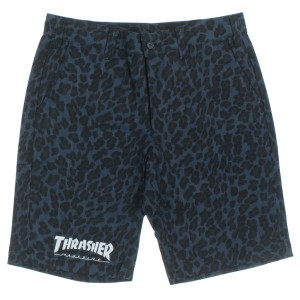 THRASHER / スラッシャー メンズ パンツ 色:紺系x黒系(豹柄) サイズ:L