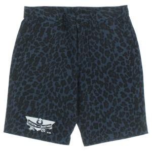 THRASHER / スラッシャー メンズ パンツ 色:紺系x黒系(豹柄) サイズ:XL