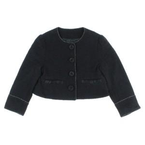 9201104ac4ceb COMME CA DE MODE FILLE   コムサデモードフィユ キッズ ジャケット 色:黒 サイズ:110