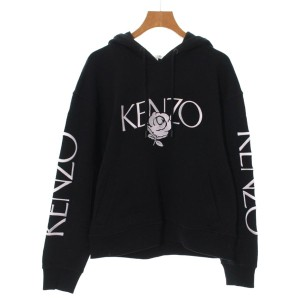 ede1380420f79 KENZO / ケンゾー レディース パーカー・スウェット 色:黒 サイズ:S