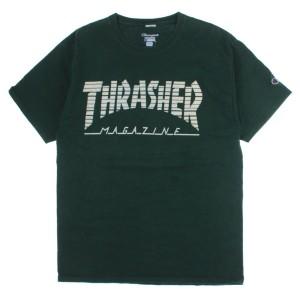 THRASHER / スラッシャー メンズ Tシャツ・カットソー 色:緑系 サイズ:L