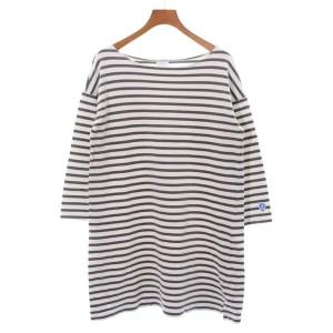 cae6779d7eaa46 ORCIVAL / オーシバル レディース Tシャツ・カットソー 色:グレーx白(ボーダー)