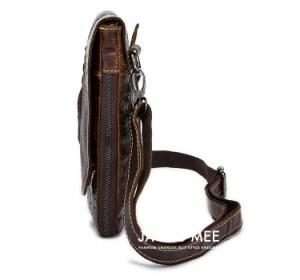 fc8681997e7c38 ショルダーバッグ メンズ バッグ レザー アウトドア 通勤用鞄 ビジネスバッグ 激安 メンズバッグ おしゃれ 斜めがけバッグ カバン