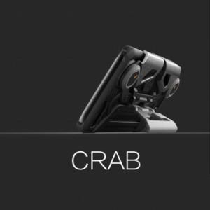 37db4ee05b iphone 荒野行動 PUBG コントローラー バトロワ スマホ スタンド カバー ゲーム用 ケース CRAB 正規