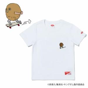 スライド(SLYDE)キングダム キッズ TEN (河了貂) ポケット付き 半袖Tシャツ SL-KINGDOM203-wht …