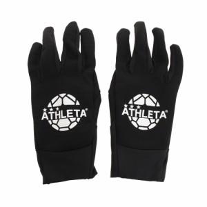 アスレタ(ATHLETA)フィールドグローブ 5262 BLK サッカー フットサル 防寒 防水 手袋(Men's)
