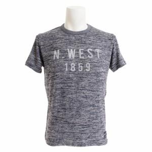 エルケクス(ELKEX)Tシャツ メンズ TR HEATHER SS N.WEST 半袖Tシャツ 863EK9HD9416 NVY オンライン価格 (Men's)