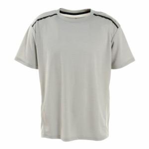 デュアリグ(DUARIG)接触冷感 吸汗速乾 UV ドライプラスクール カチオン 半袖Tシャツ 863D1SD6839 WHT…