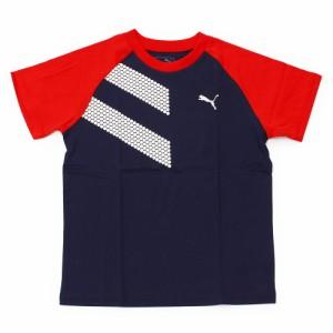 プーマ(PUMA)ショートスリーブTシャツ 591891 06 NVY- (Jr)