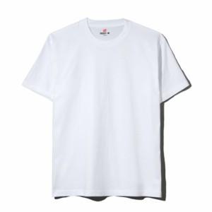 ヘインズ(Hanes)Tシャツ メンズ ビーフィー半袖 H5180 010(Men's)