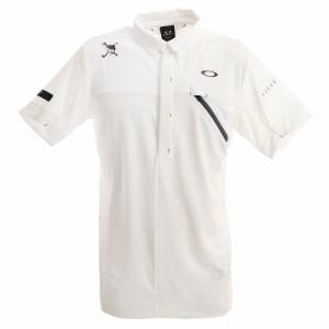 オークリー(OAKLEY)ゴルフ ウエア ポロシャツ メンズ Skull Message ポロシャツ FOA400793-10…