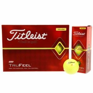 タイトリスト(TITLEIST)ボール  19 TRUFEEL T6134S-J イエロー 1ダース(12球)(Men's)