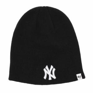 フォーティーセブン ブランド(47 Brand)ニューヨーク ヤンキース ビーニー ニット B-BIN17ACE-BK オンラ…
