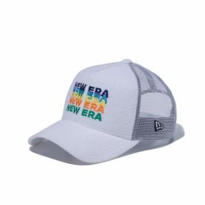 ニューエラ(NEW ERA)9FORTY A-Frame トラッカー パイル NEW ERA ロゴ ホワイト 12325959 (Men's)