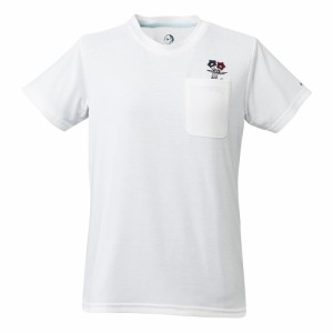 ホールアース(Whole Earth)tシャツ 半袖 WOGENTIAN POCKET TEE WE27HA29ホワイト  (Lady's)