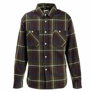 Slyde Vintage(Slyde Vintage)チェックシャツ 長袖 SV-20SSAP007-GRN オンライン価格…