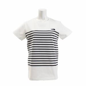 4982a623c64dc ノースフェイス(THE NORTH FACE)ショートスリーブパネルボーダーTシャツ NTW31950 W (