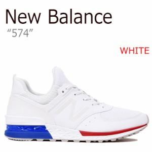 ニューバランス スニーカー NEW BALANCE 574 メンズ レディース WHITE ホワイト MS574SCN シューズ