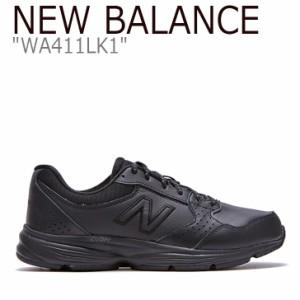ニューバランス 411 スニーカー New Balance レディース WA 411 LK1 New Balance411 BLACK ブラック WA411LK1 FLNB9F4W163 シューズ