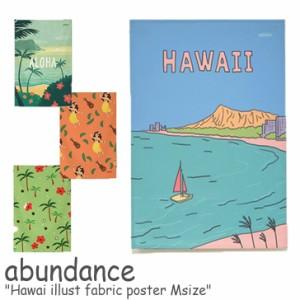 アバンダンス タペストリー abundance ハワイ イラスト ファブリックポスター M Hawai illust fabric poster GM517001/2/3/4/5 ACC