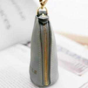 キーケース スマートキー 鍵 大容量 カラビナ付き ソフトタッチ スモーキーカラー くすみ