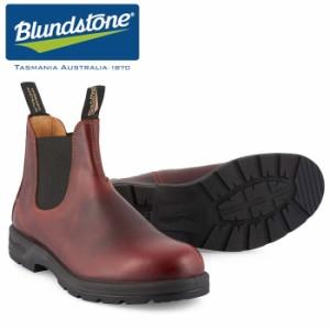 c7e58151399c09 ブランドストーン サイドゴア ブーツ レザー 天然皮革 カジュアル ワーク レッドウッド 赤 茶 メンズ レディース BLUNDSTONE