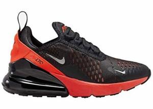 ナイキ キッズ/レディース エアマックス270 Nike Air Max 270 スニーカー Black/Reflect Silver/Bright Crimson