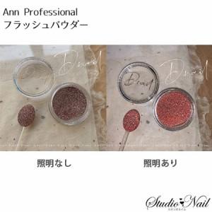 アン プロフェッショナル Ann Professional フラッシュパウダー レッド