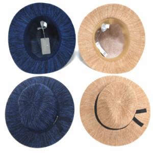 88638b2701795 【Ampersand】アンパサンド キッズ ハット帽子(ベージュ ネイビー)(52~56センチ)