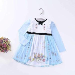 f27a00488c5b2 子供向けのハロウィンコスチューム風のドレス 膝丈ドレス 膝丈ワンピース ピアノ発表