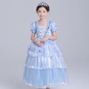 61496df0fd86e 子供 キッズ お姫様 キッズドレス シンデレラコスプレハロウィン 衣装 プリンセス コスプレシンデレラ ドレス