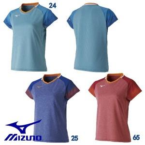 921c2f6f407df 【MIZUNO-ミズノ】 レディース 半袖ゲームシャツ/ユニホーム 【卓球ウェア/卓球