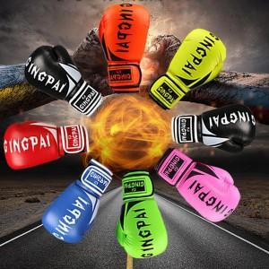 b48302e11c7e5 ボクシング グローブ 大人用 子供用 左右セット パンチンググローブ 打撃 練習 空手 格闘技 トレーニング グローブ 多色選択