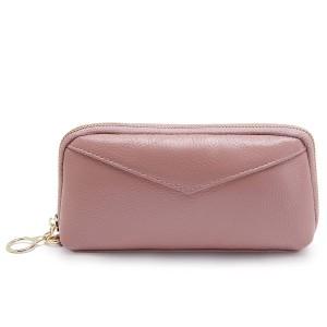 68046ee35581c 本革 大容量 ポーチ 長財布 小銭入れ 化粧品 バッグインバッグ クラッチバッグ