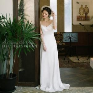 ウェディングドレス ワンピース ウエディングドレス オーダーメイドも可能  ファスナータイプ【XS〜XXL】【wd175jx】