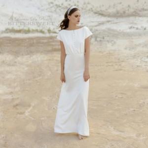 ウェディングドレス オーダーメイドも可能 ウエディングドレス レディースドレス ファスナー 【XS〜XXL】【wd276jx】