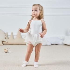 3fecf98456ee5 子ども服 子ども用 赤ちゃん 新生児 ベビー服 キッズ服 オールインワン キャミソール タンクトップ 肩リボン カバーオール