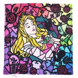 眠れる森の美女 オーロラ姫 ハンドタオル インクジェットタオル ディズニープリンセス キャラクターグッズ メール便可