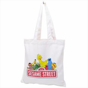 セサミストリート トートバッグ カラートート ロゴ SESAMI STREET キャラクター グッズ