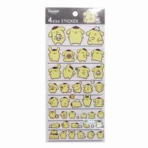 ポムポムプリン シール 4サイズステッカー 14641 サンリオ キャラクターグッズ