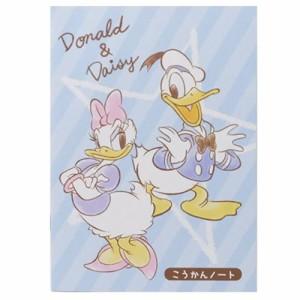 ドナルド&デイジー ノート A5こうかんノート 60781 ディズニー キャラクターグッズ