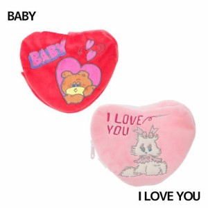 foxy ハートペンポーチ ハートペンケース baby i love you