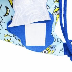 ミニオンズ 体操服かばん キルトナップサック 2018年新入学 ユニバーサル映画 キャラクター グッズ