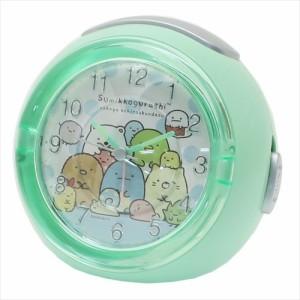 すみっコぐらし 目覚まし時計 LEDアラームクロック いつものすみっコ サンエックス キャラクター グッズ