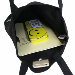 ほっぺちゃん トートバッグ 缶バッジ付き帆布トート ブラック サン宝石 キャラクターグッズ通販