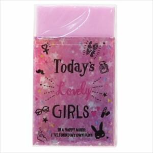 スパークルパーティー 消しゴム 香り付きケシゴム TODAY'S LOVELY GIRLS かわいいグッズ通販 メール便可