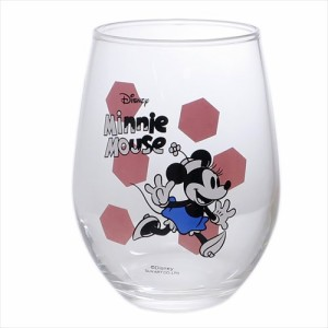 ミニーマウス ガラスタンブラー 丸グラスディズニー キャラクターグッズ通販
