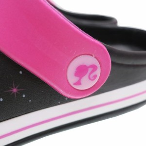 バービー EVAサンダル レディースプリントサンダル ブラック Barbie キャラクターグッズ通販
