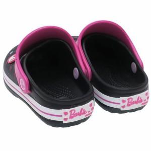 バービー EVAサンダル キッズプリントサンダル ブラック Barbie キャラクターグッズ通販