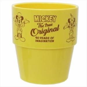 ミッキーマウス プラカップ スタッキングタンブラー Celebration Art ディズニー 250ml キャラクター グッズ